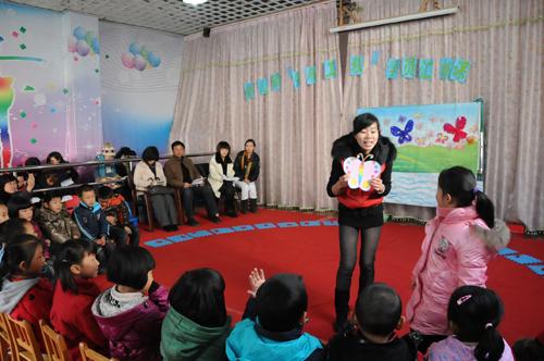 小龙人幼儿园举办县公开课活动